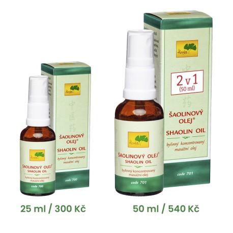 701 ŠAOLINOVÝ OLEJ® (50 ml)
