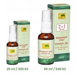 700 ŠAOLINOVÝ OLEJ® (25 ml)